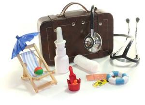 Přírodní cestovní lékárnička