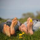 Otoky nohou v létě