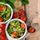 Saláty s moringou