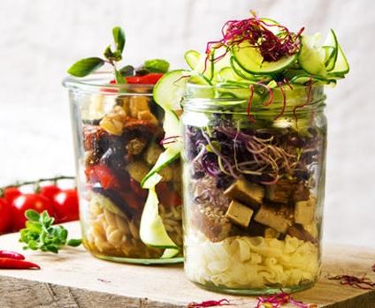 Jak na výborný a zdravý oběd do sklenice